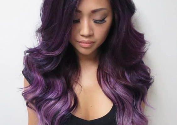 Como pintar mi cabello de color morado