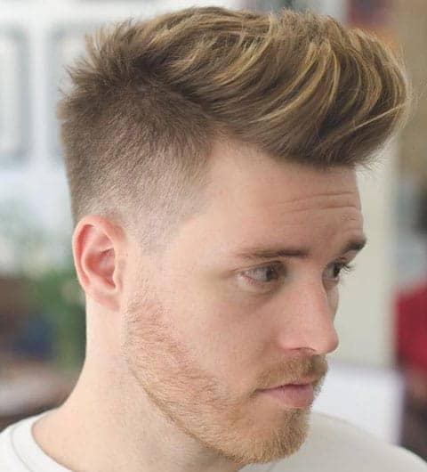 Color de cabello en los hombres