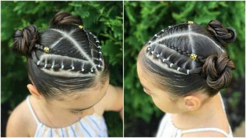 Resultado de imagen para doble cintillo peinado niñas